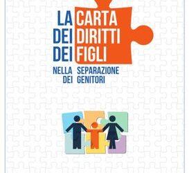 Carta dei diritti dei figli nella separazione dei genitori