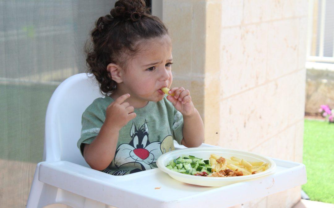 è ora della pappa: Psicologia e Pedagogia dello sviluppo del comportamento alimentare